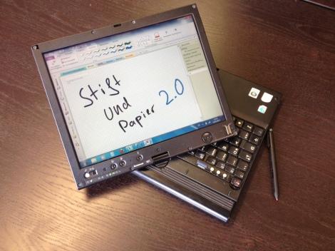 Stift + Papier 2.0