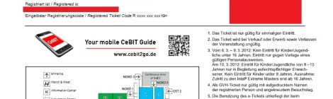"CeBit ""e-Ticket"""
