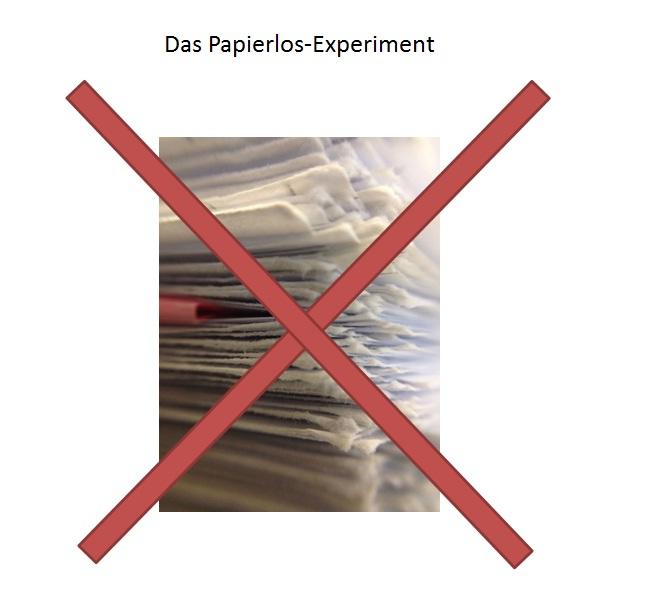 Das Papierlos Experiment - Teil 1