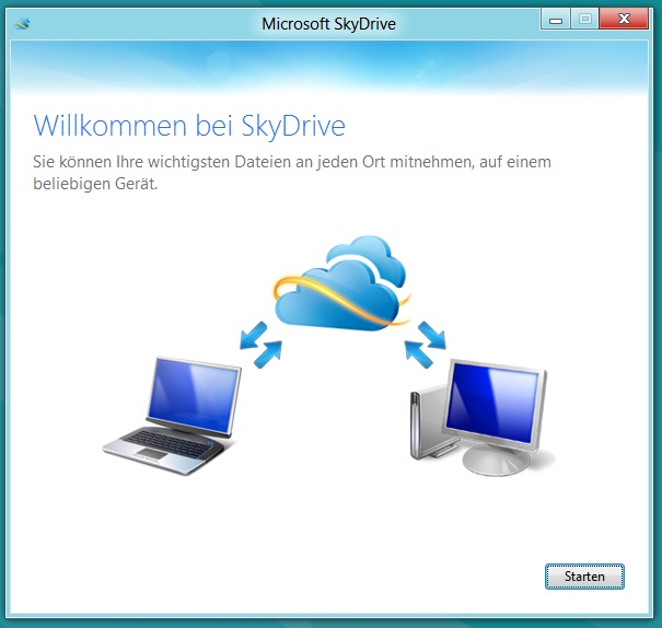 DropBox ist tot, lang lebe SkyDrive (4/5)