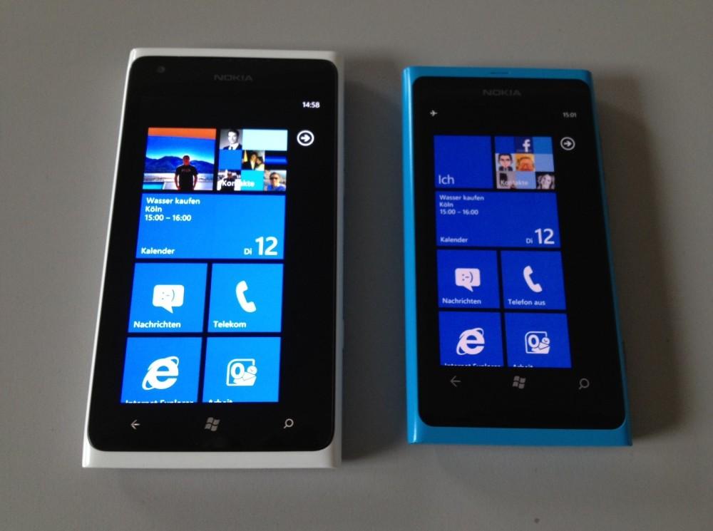 Lumia 900 VS Lumia 800 (1/5)