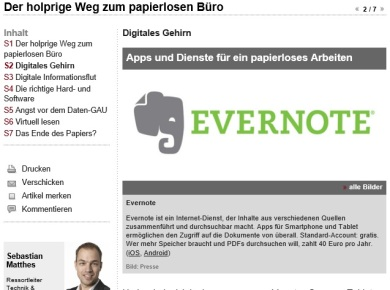 WiWo Evernote