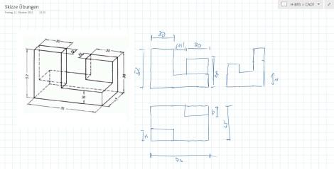 CAD Zeichnung Surface