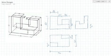 skizzen mit dem surface onenote microle. Black Bedroom Furniture Sets. Home Design Ideas