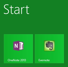 Evernote-onenote
