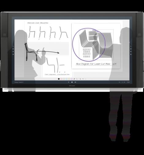 Whiteboard Surface Hub