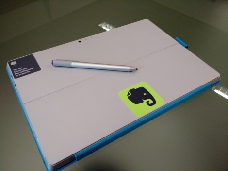 Evernote Surface Pro 3