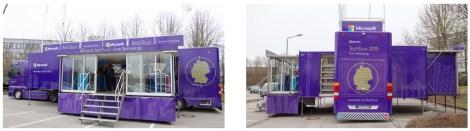 Microsoft Tech Truck