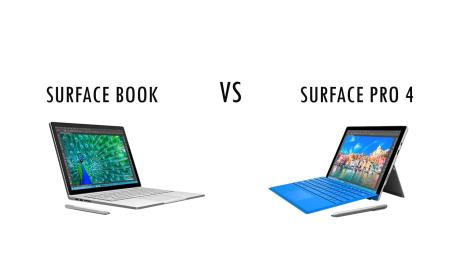 SurfaceBook VS SurfacePro4