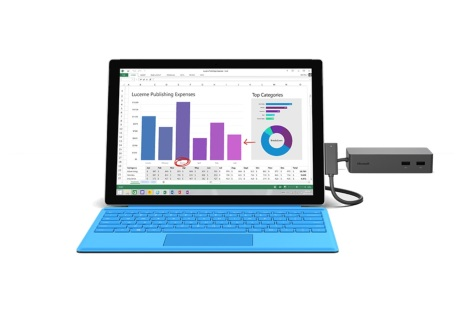 Surface Dock Test Feature