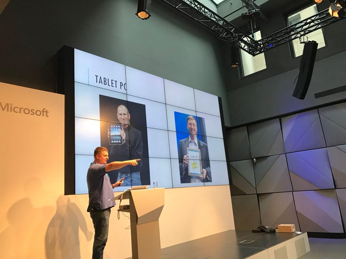 Mark Kreuzer als Referent auf der Bühne bei dem Dr. Windows Community Day 2016