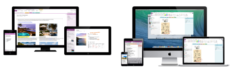 OneNote Android iOS Windows Cloud